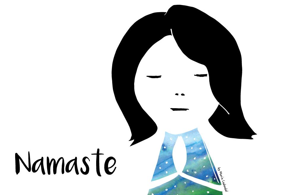 Namaste Tacksamhet